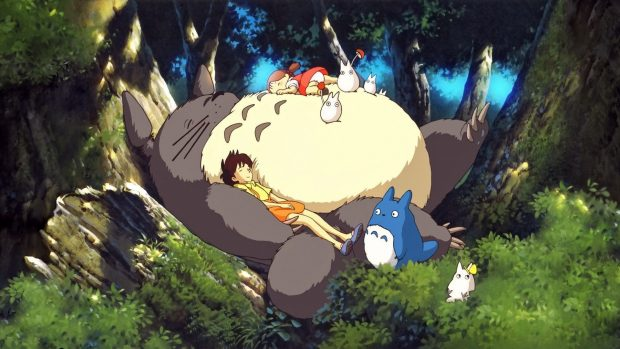 Free Download Totoro Wallpaper HD for PC.